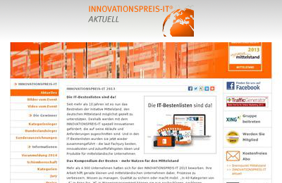 Innovationspreis IT